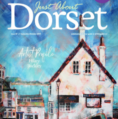 The team in Just About Dorset Magazine